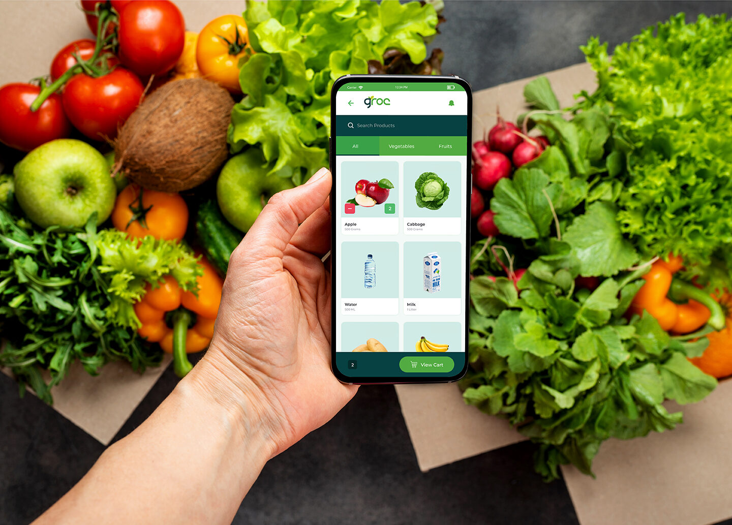 How Grocery Delivery App Helps Small Stores to Stay In Online Business